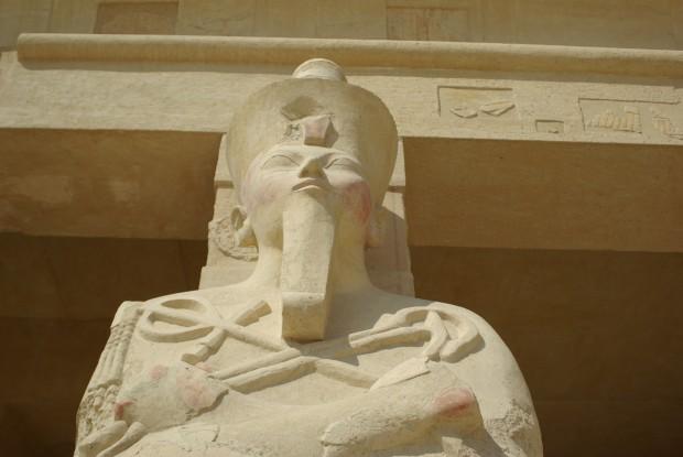 JALthouseHatshepsutEgyptAmonStatue