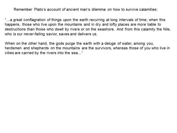 Theory on How the Flood Happened  Based on the work by Donald Wesley